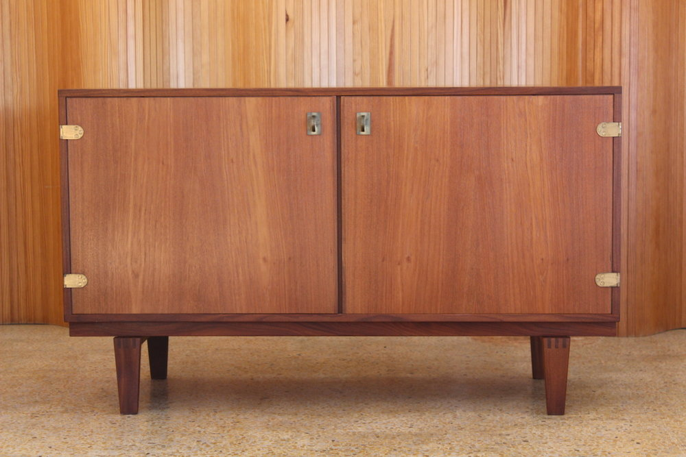 Peter Lovig Nielsen teak sideboard - manufactured by Hedensted Mobelfabrik