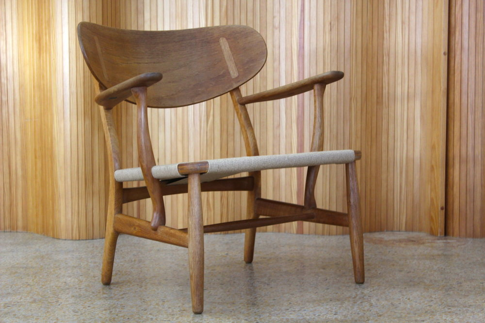 Hans Wegner CH22 lounge chair - Carl Hansen and Son