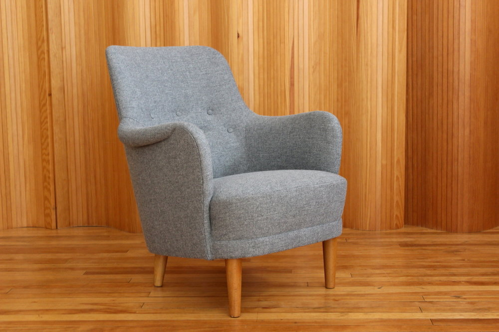 Carl Malmsten 'Samsas' lounge chair