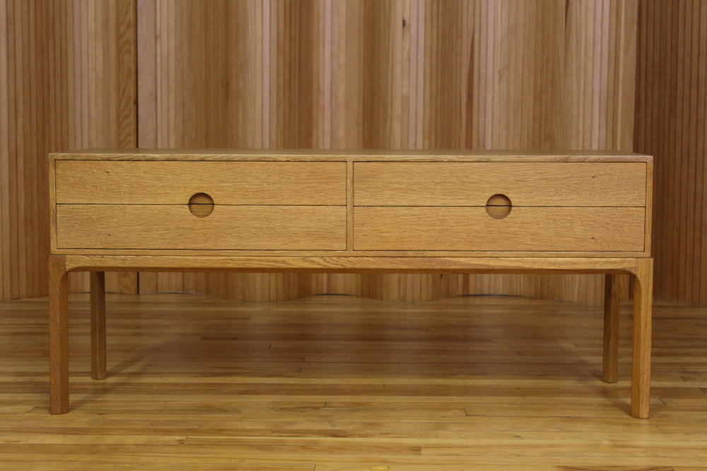 Aksel Kjersgaard oak low chest - model 394