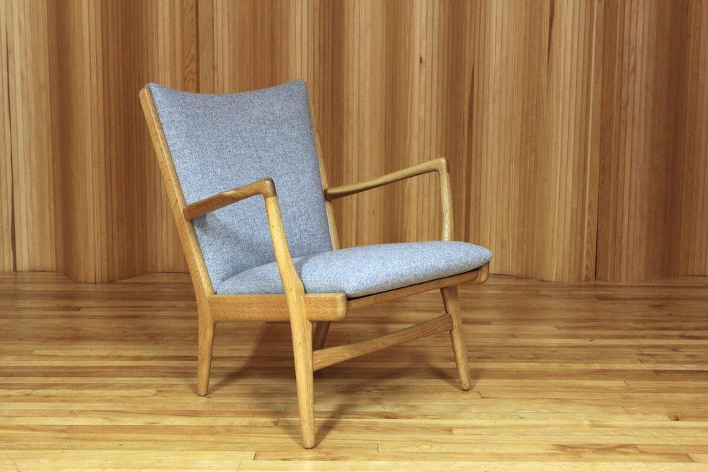 Hans Wegner AP16 lounge chair, AP Stolen, Denmark.