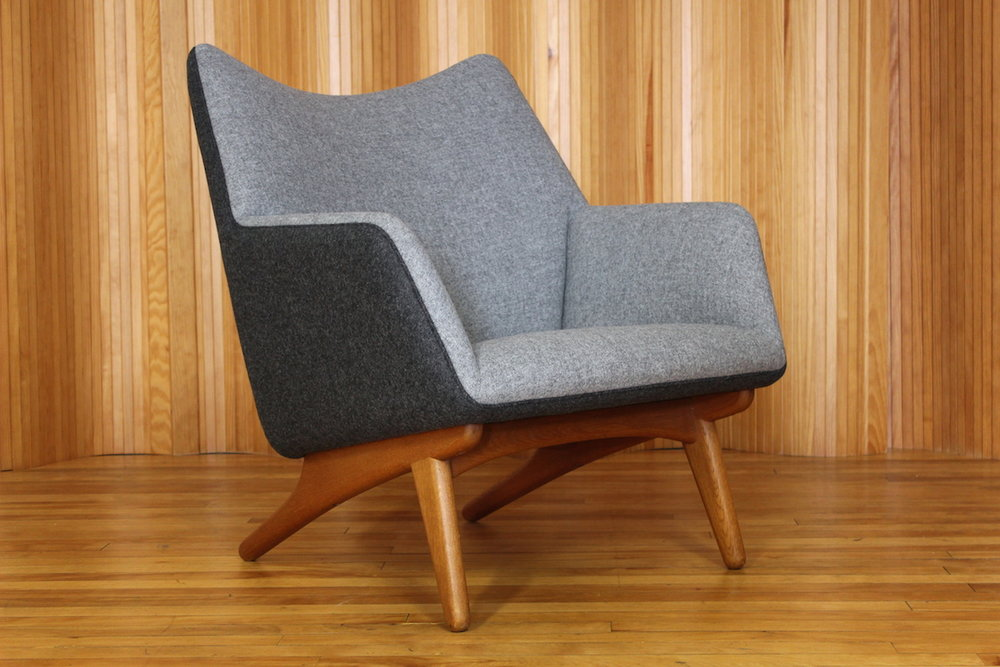 Illum Wikkelso lounge chair, Mikael Laursen, Denmark