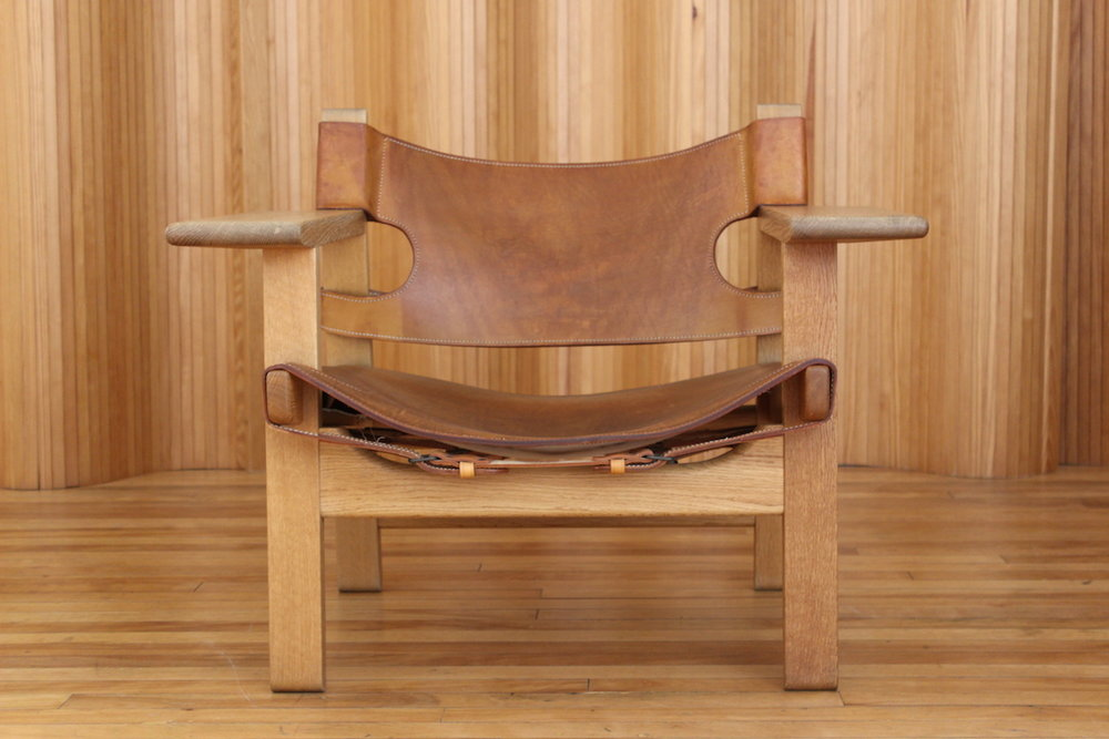 Borge Mogensen Spanish chair model 226 Fredercia Denmark