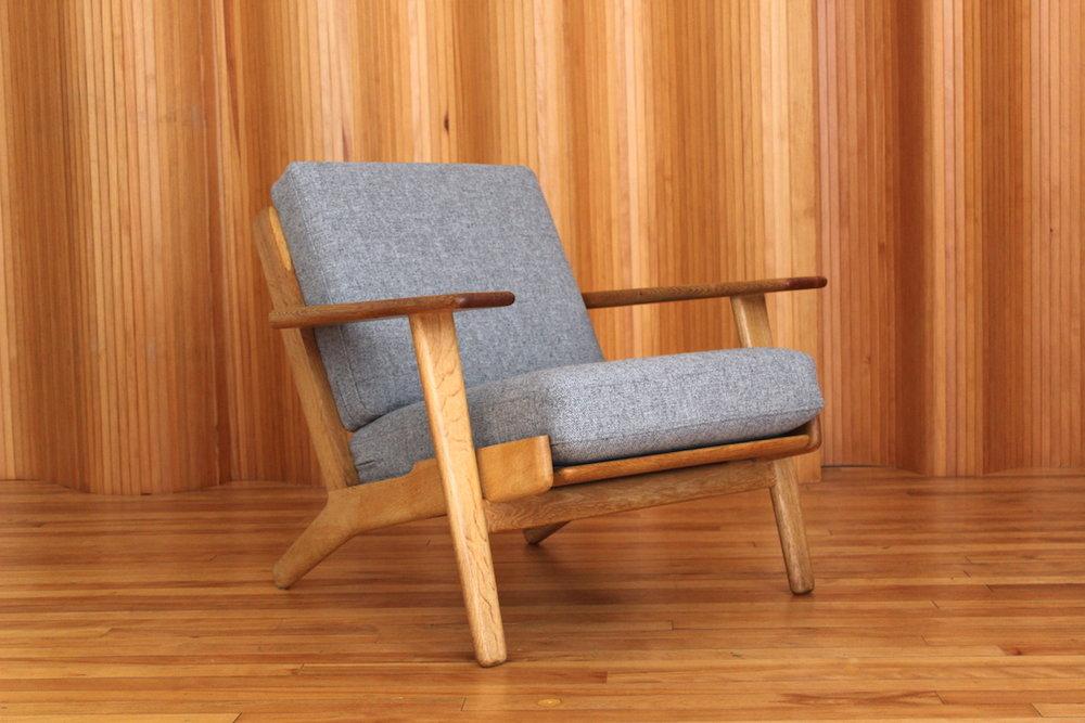 Hans Wegner GE290 lounge chair Getama Denmark