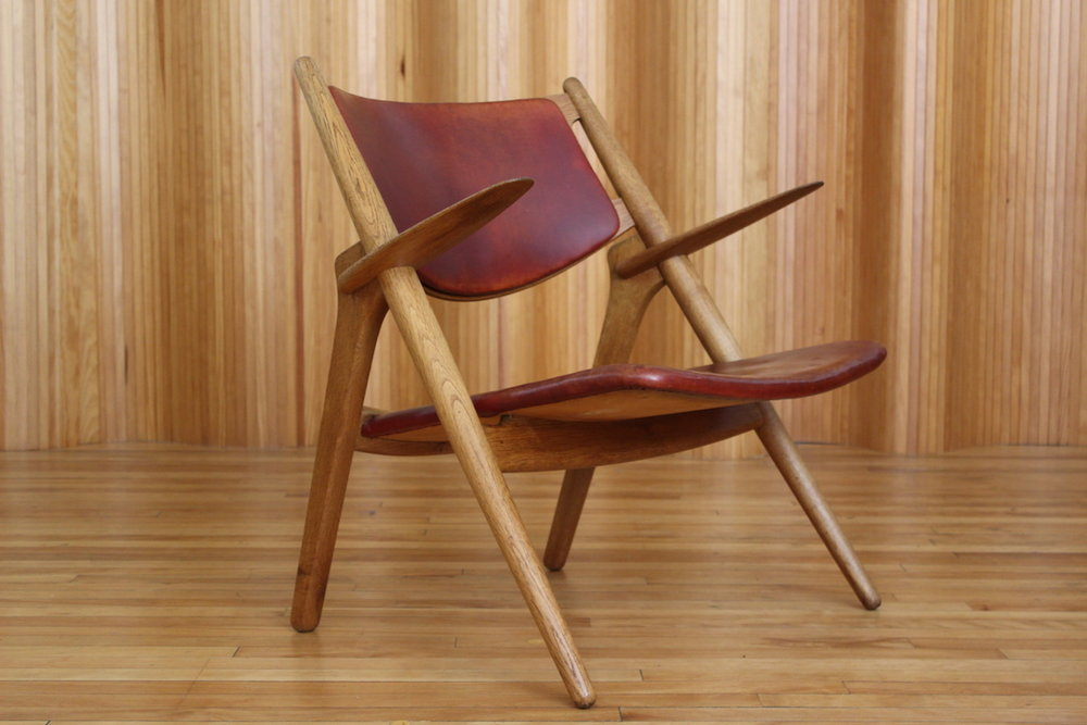 Hans Wegner CH28 lounge chair Carl Hansen & Son Denmark
