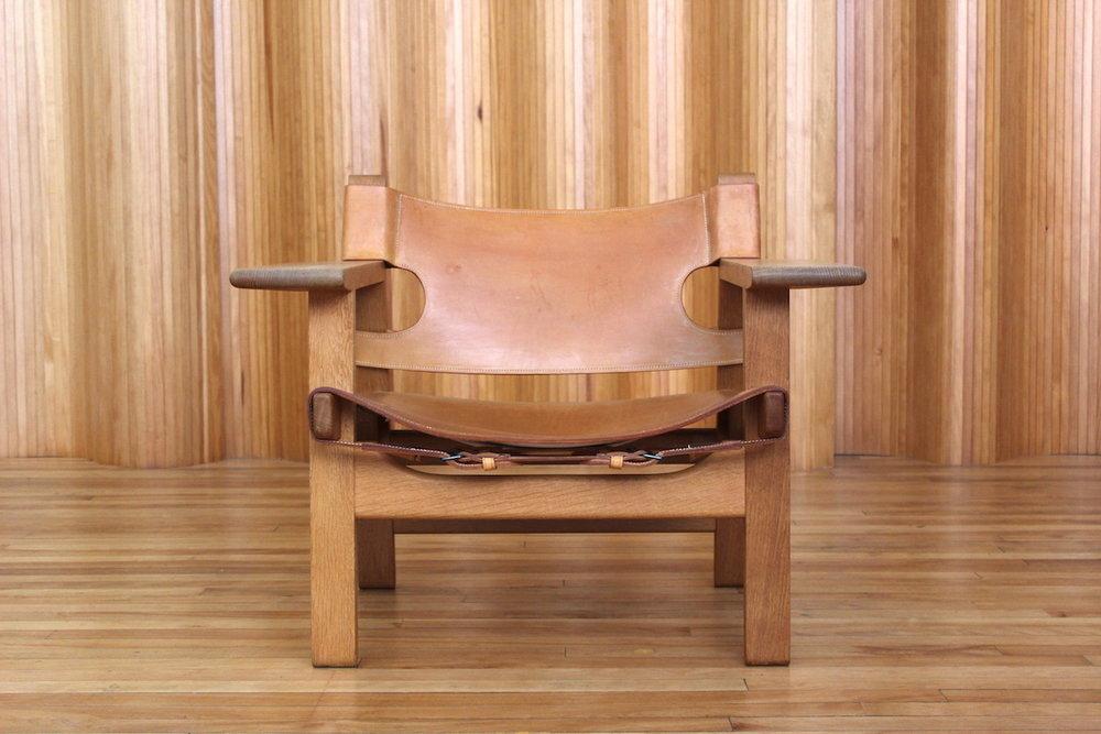 Borge Mogensen 'Spanish' chair Fredericia Stolefabrik