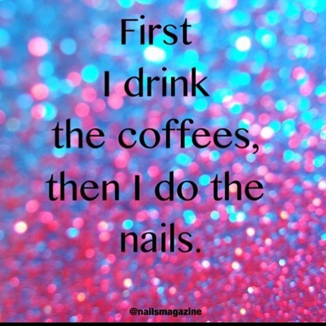"Yes. But make that ""baileys in coffee"" ❄️ ☕️"
