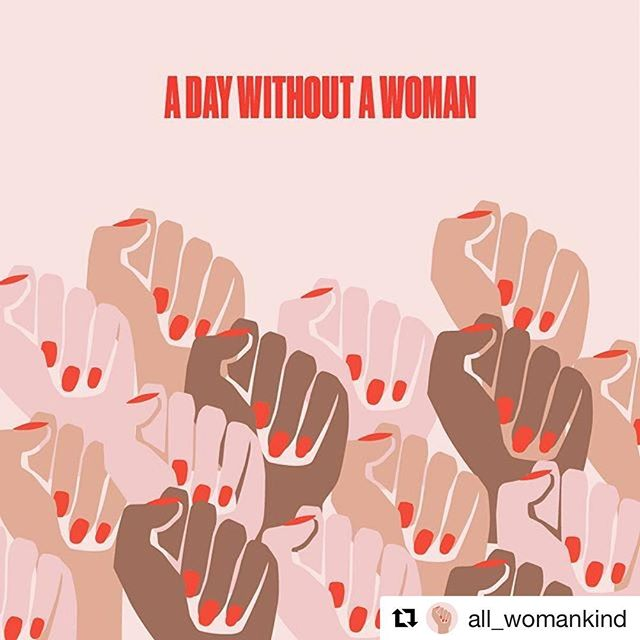 Happy international women's day / a day without a woman. If you can strike, please do, if you can not please wear red in solidarity! ♥️🌹💄💋💃👠🍷💯