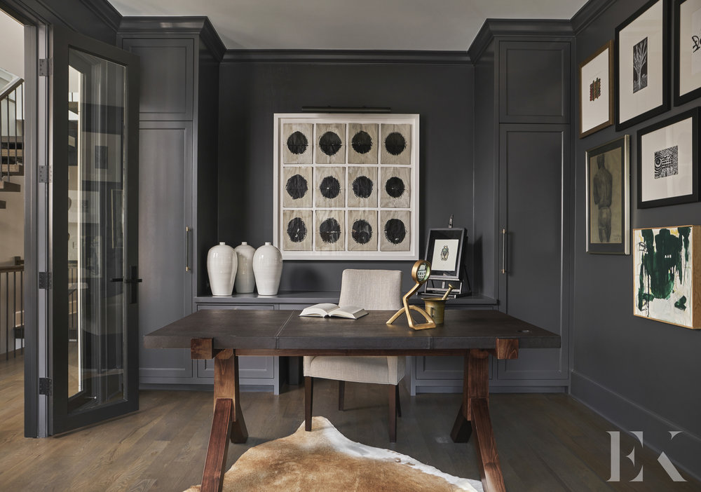Ukrainian Village Home Office, Elizabeth Krueger Design
