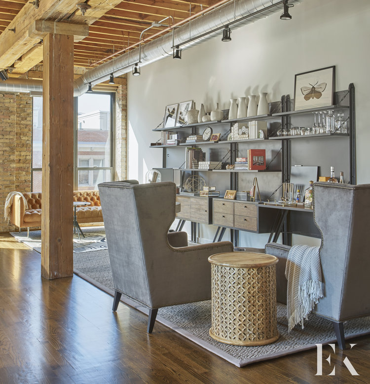 Luxury Industrial Chicago Apartment, EKD