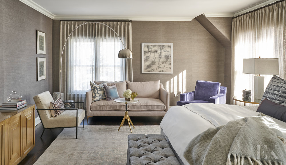 Sophisticated and Luxurious Master Bedroom, EKD