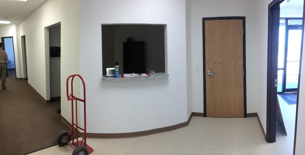 Vestibule Left / Reception Center/ Hall Left.  panoramic