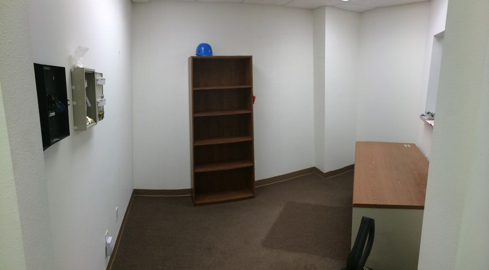 First Office / Reception. panoramicj