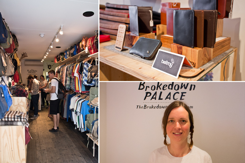 Dee from The Brokedown Palace shop.