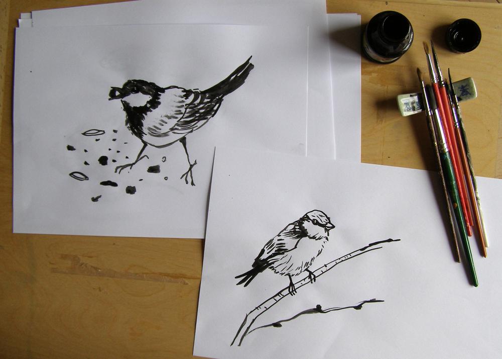 Vše začíná kresbou.