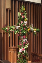 Flower cross in sactuary.jpg