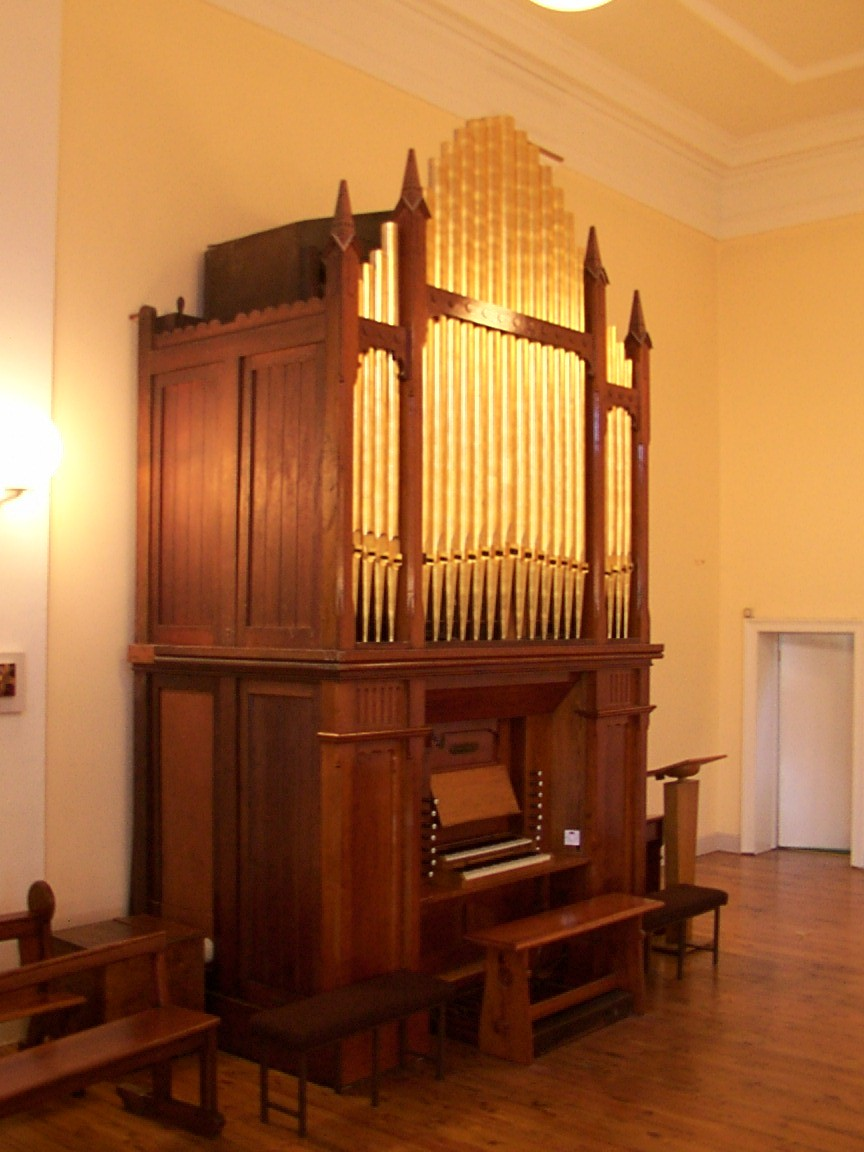 The church organ by William Telford at Milltown, Dublin.