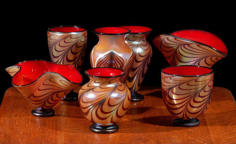 Florentine cabinet vases