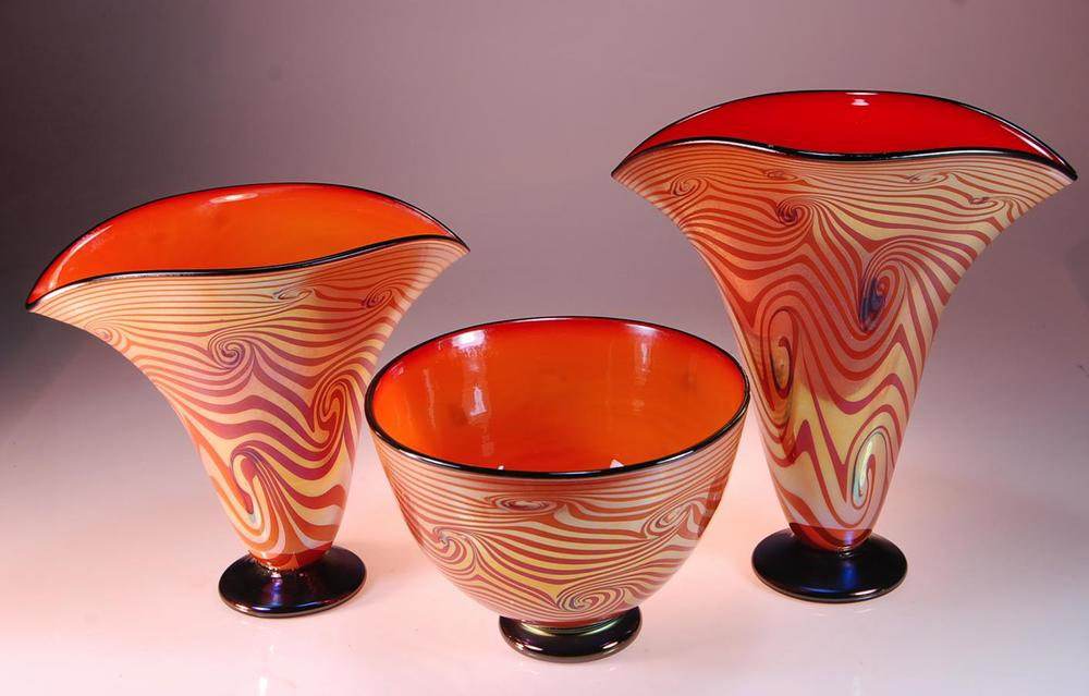 Tuscan Vase Group
