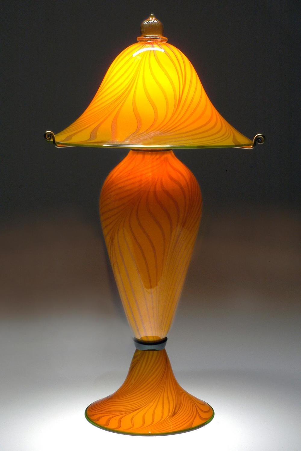 Lemon Passion three piece lamp