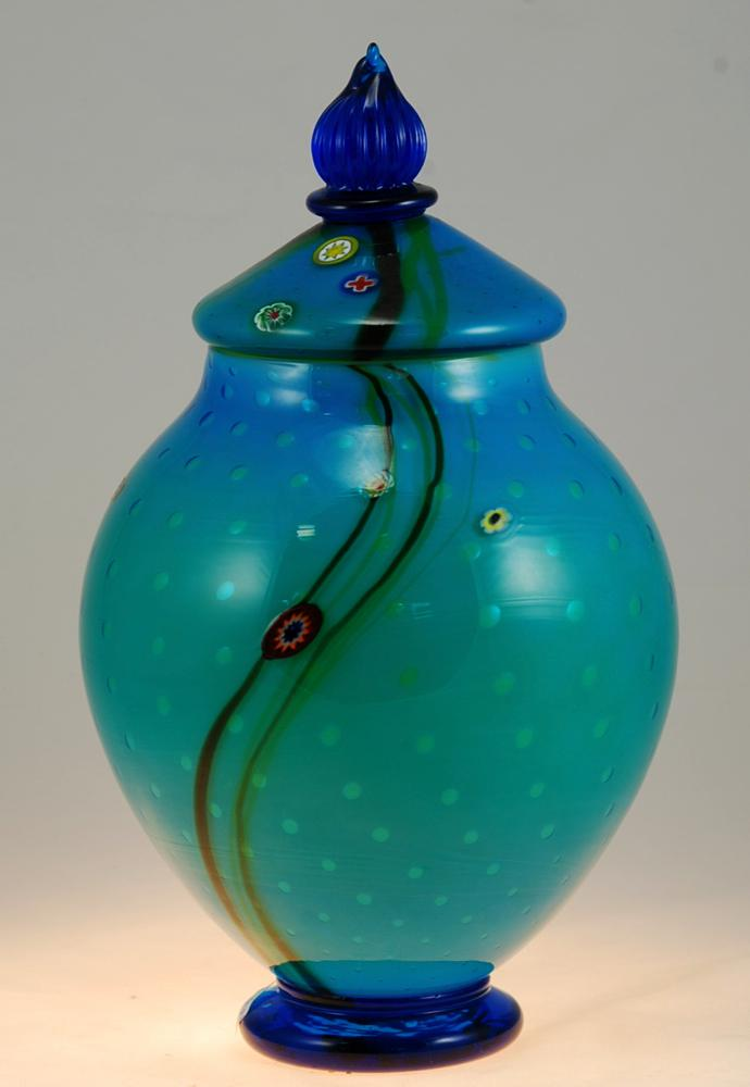 Aquarium Lidded jar