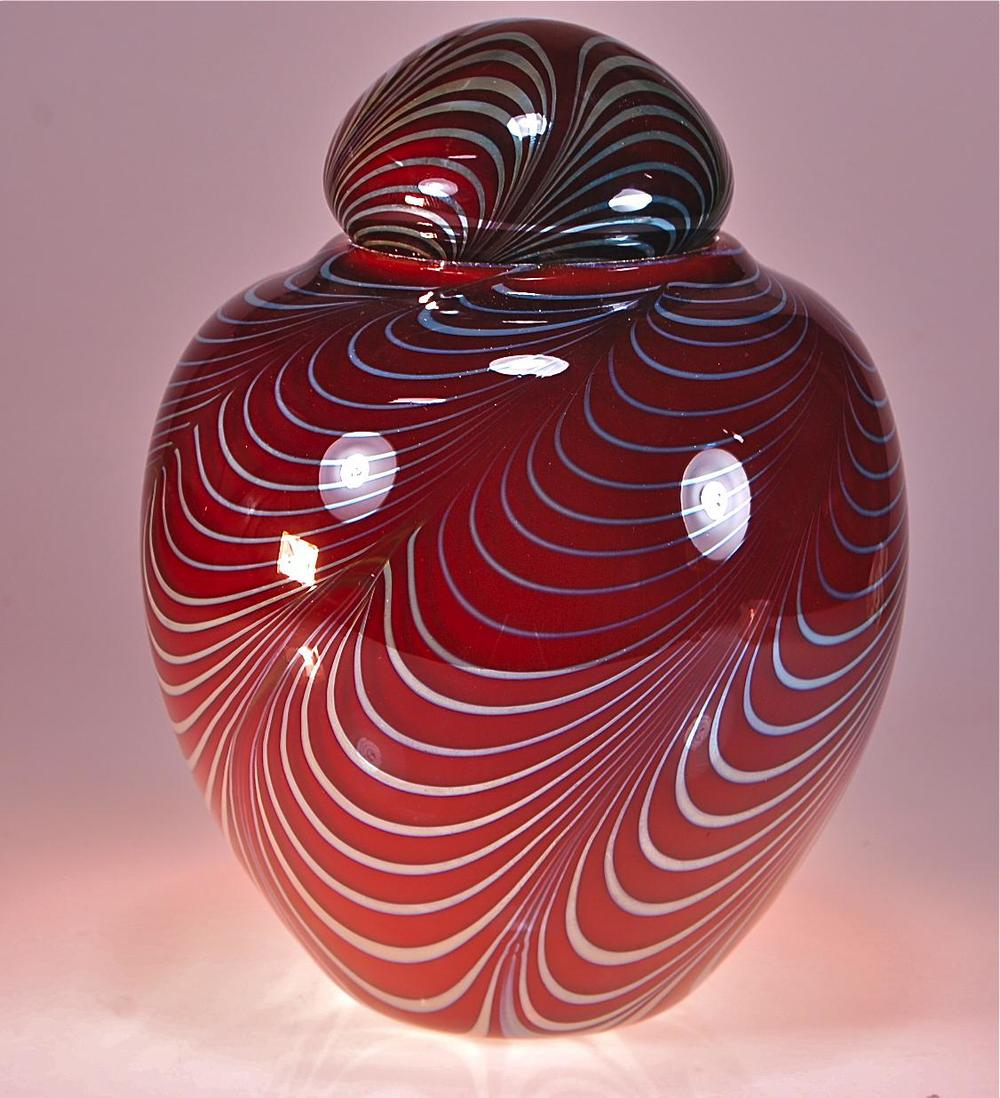 Honey Amber Cremation Urn