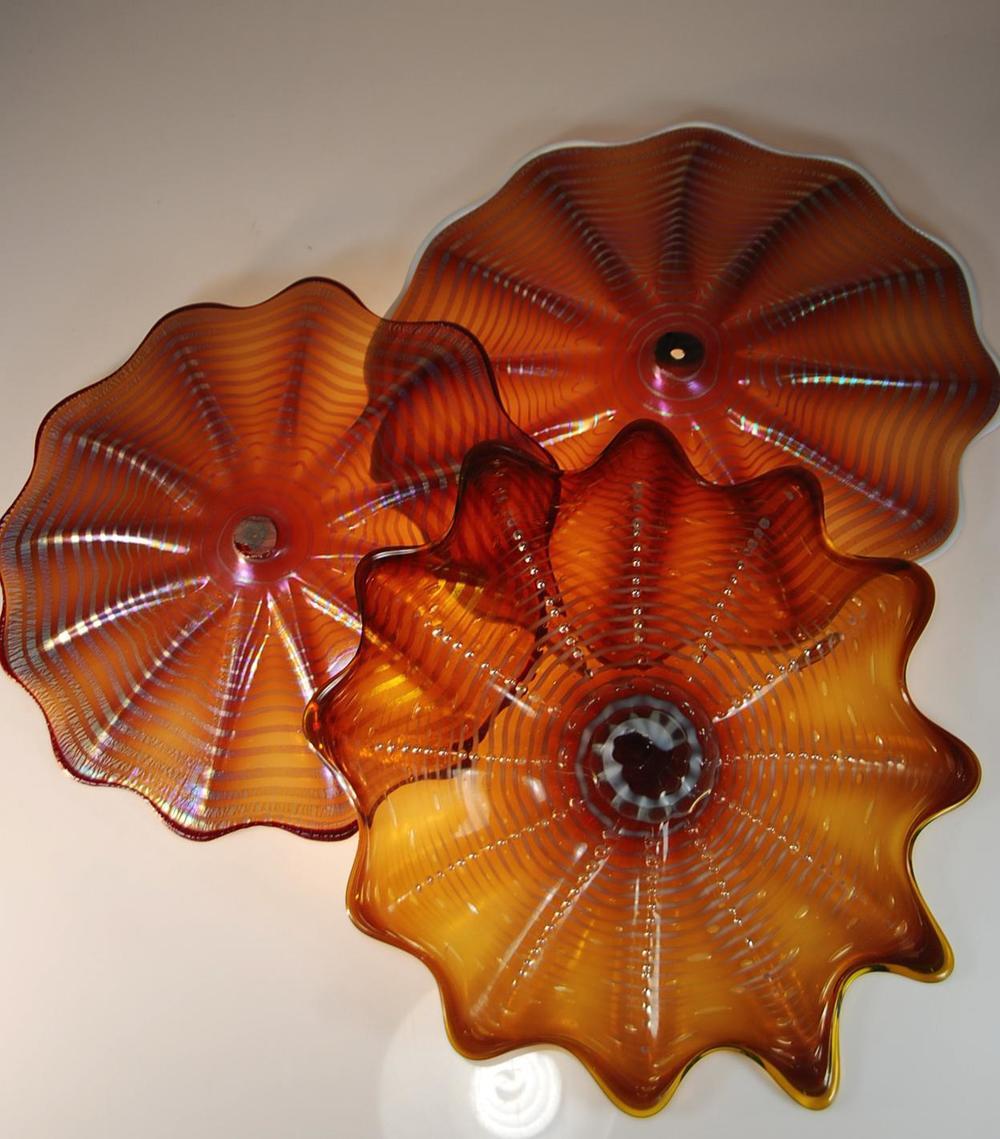 Honey Amber rondels
