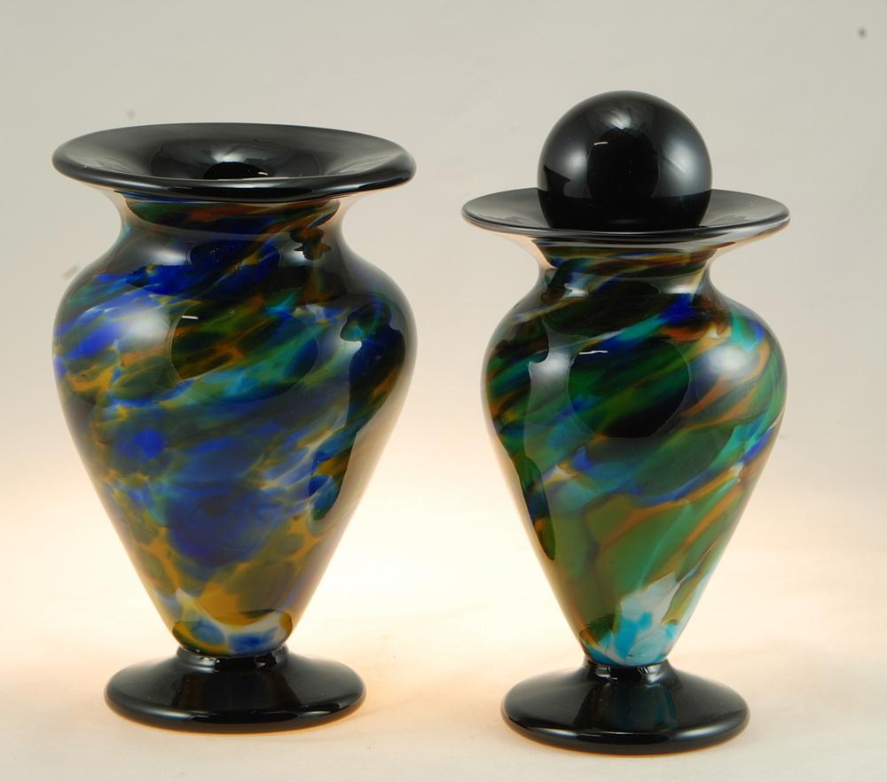 Black keepsake Urns