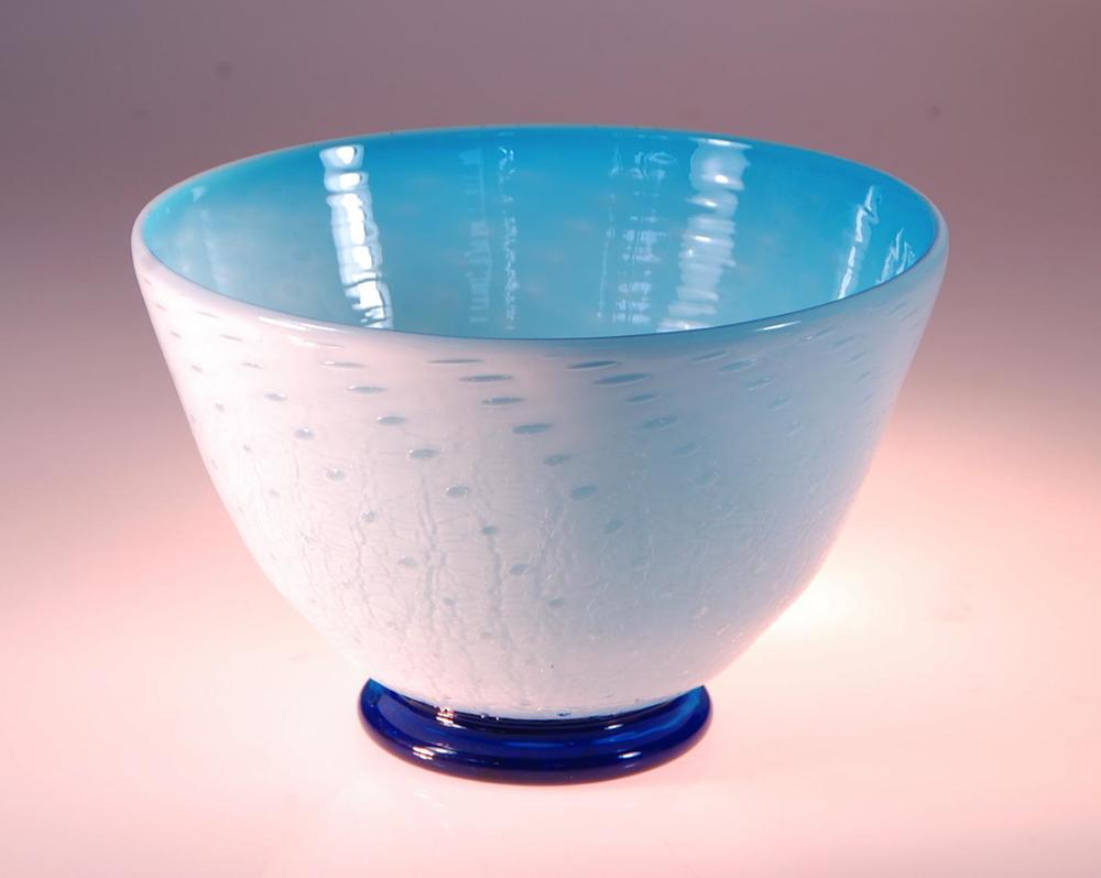 white opal ceral bowl