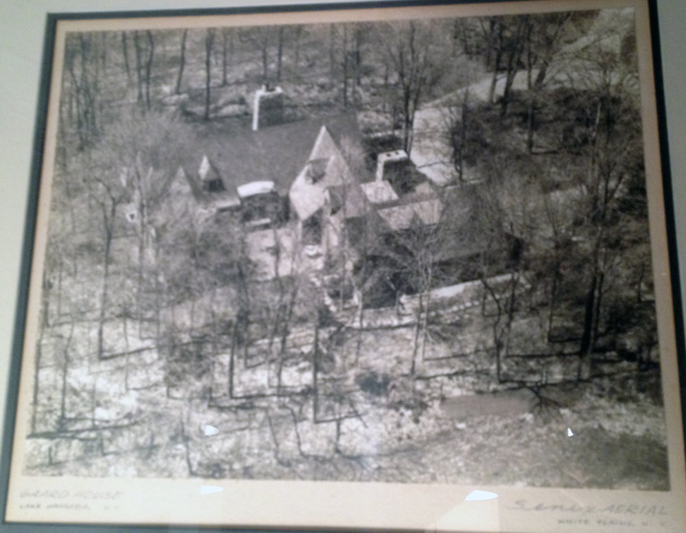 Aerial view of the Gaard House