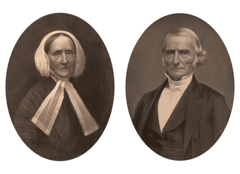 Joseph and Loretta Smith Brundige, parents of Polly Brundige. The Brundige house stands at #100 Waccabuc Road (Rt. 138)