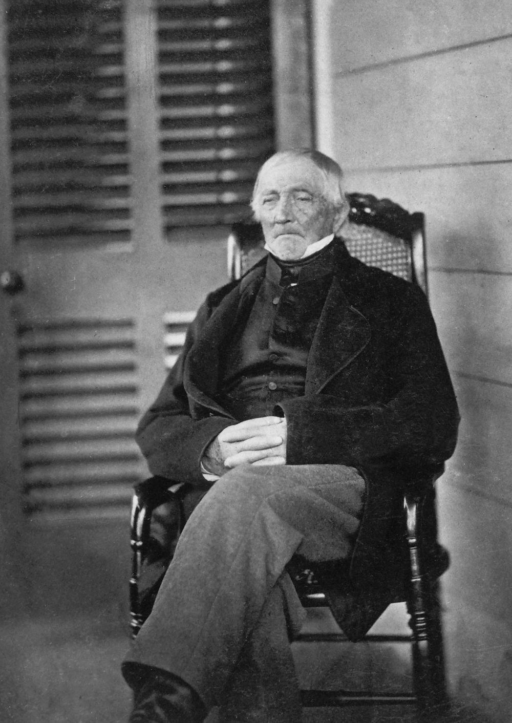 Solomon Mead. He died in 1870 at the age of 91.