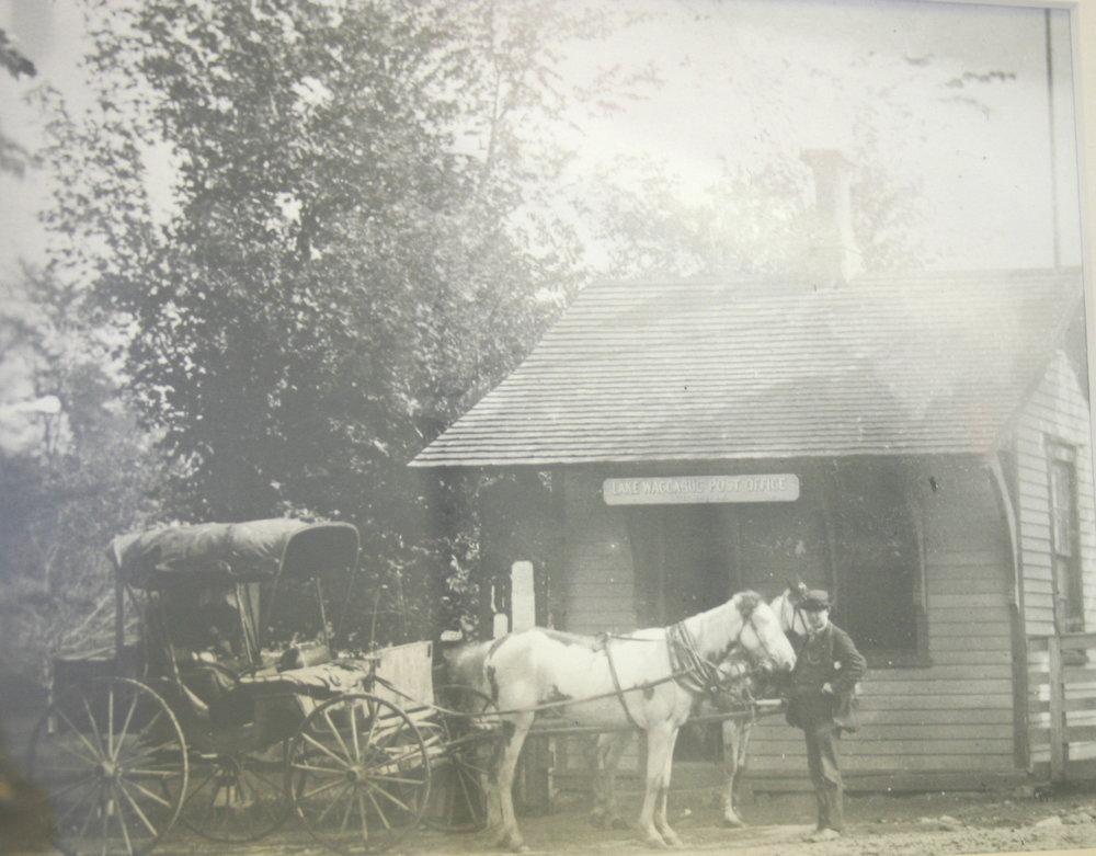Mailman John Ford, September 1889.