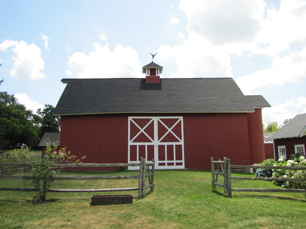 2010 – the main barn