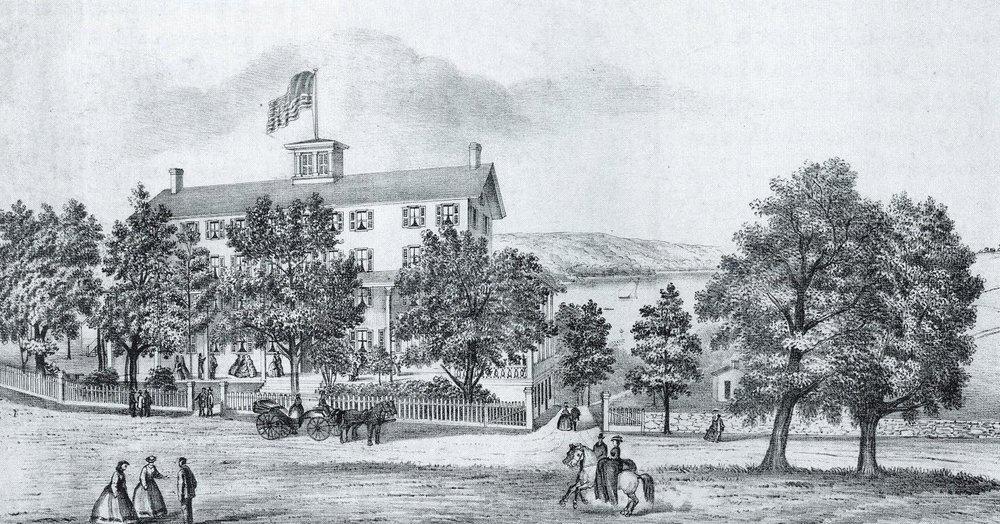 Waccabuc House, c. 1865