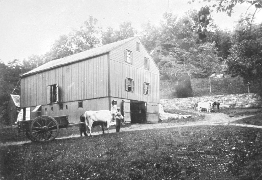 The stable of Waccabuc Hotel, in the late 1800s