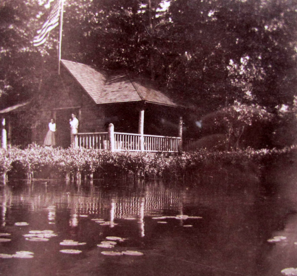 Auntie Deb's boathouse