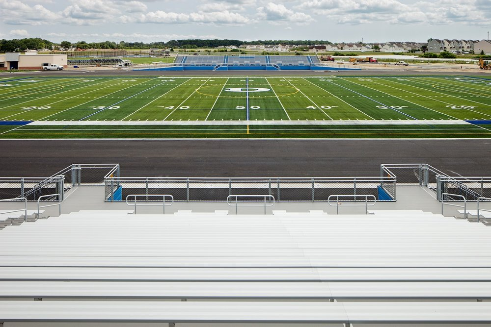 AthleticDover Athletic Field By Daniel Jackson Architectural Photographer