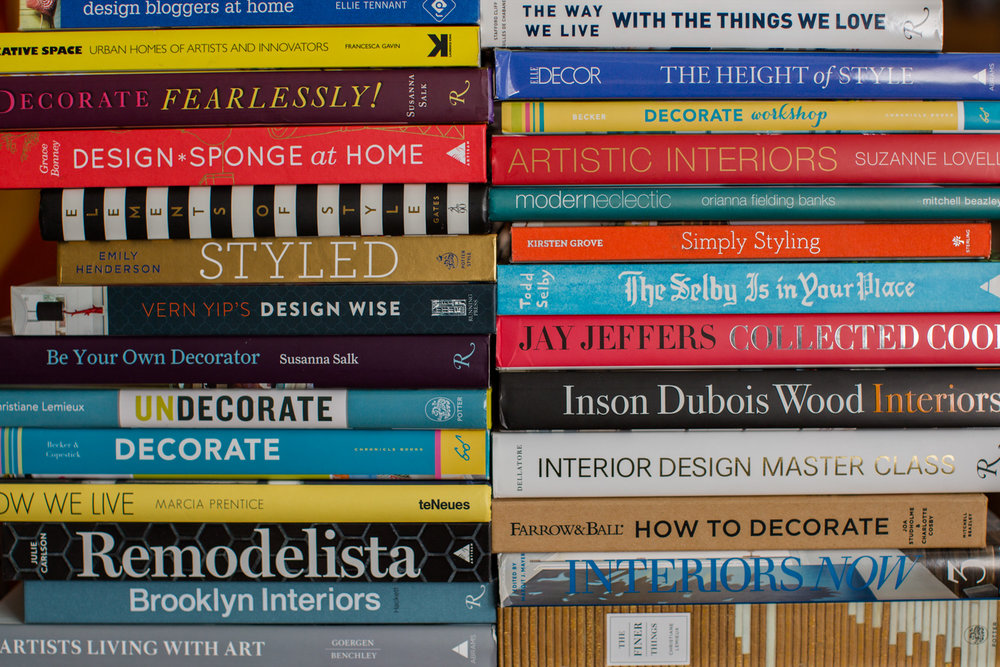 Just some of the books I have gathered in the last few years.