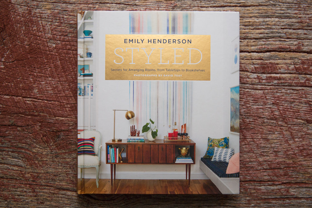 Emily Henderson's  Styled . I found lots of good information useful for interior photo styling.