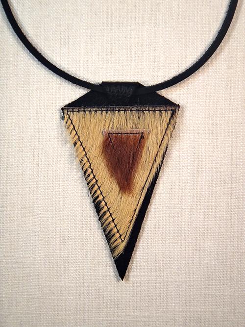 Arrowhead pendant leatherblade arrowhead pendant aloadofball Images