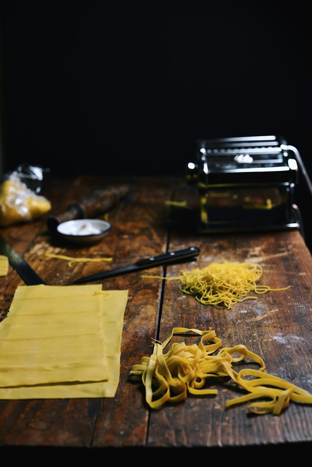 Homemade Egg Pasta |A Brown Table