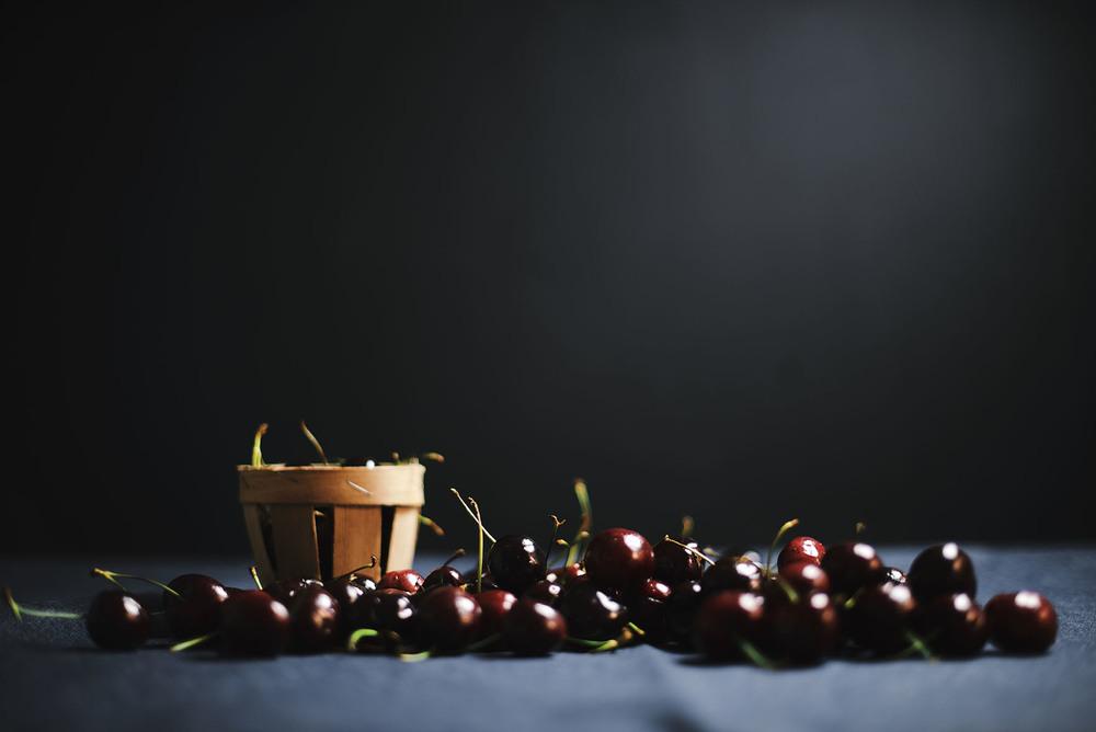 cherry labneh/creme kefir ice cream — A Brown Table