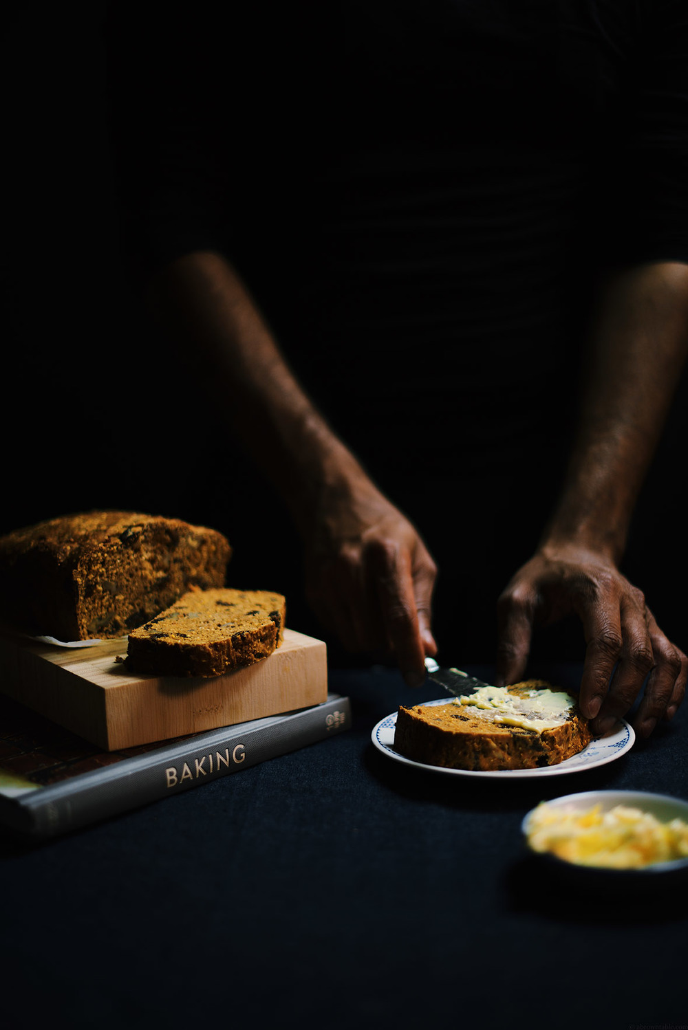 whole wheat molasses yogurt bread with fig and walnuts | A Brown Table