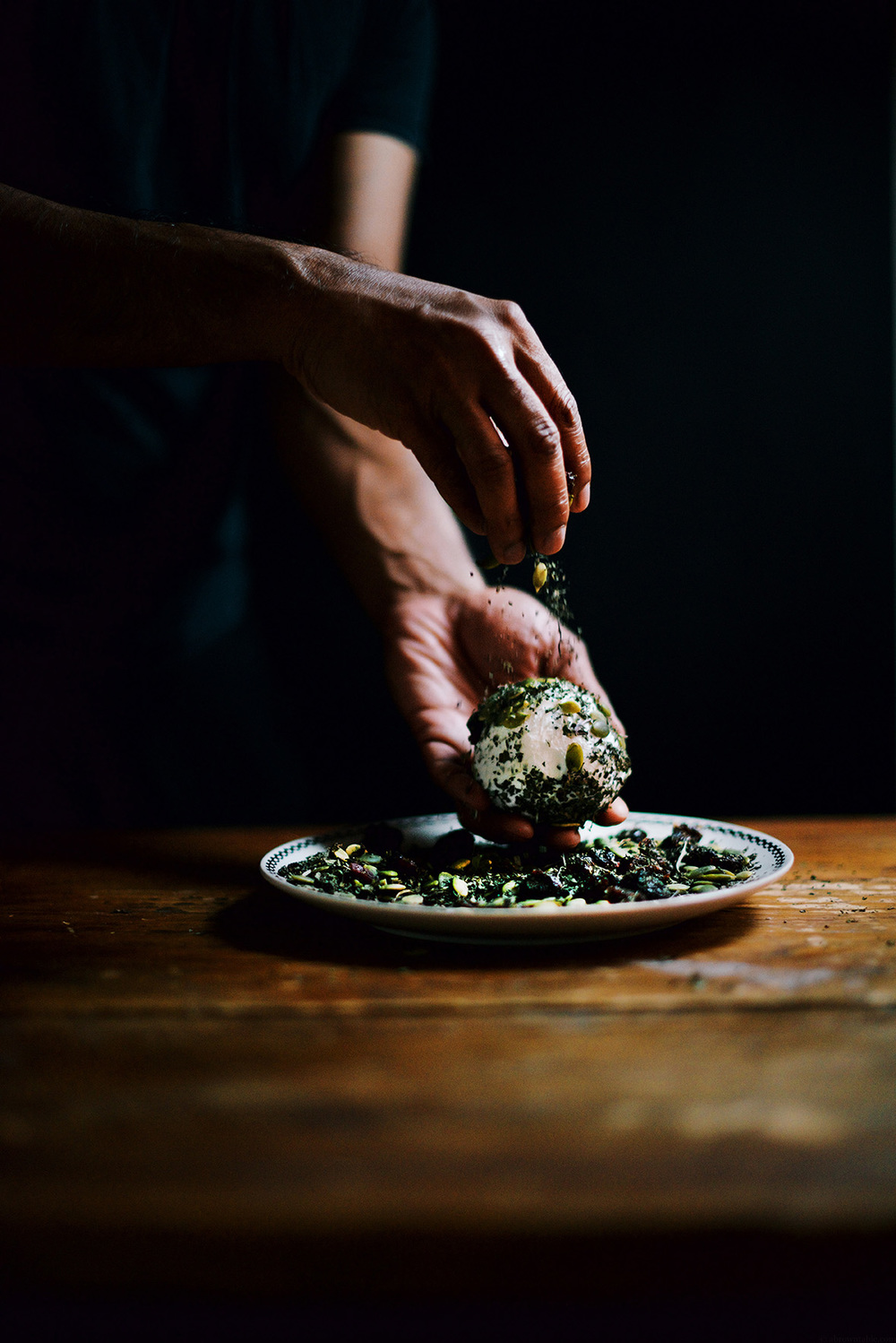Herbed Goat Cheese Ball | A Brown Table