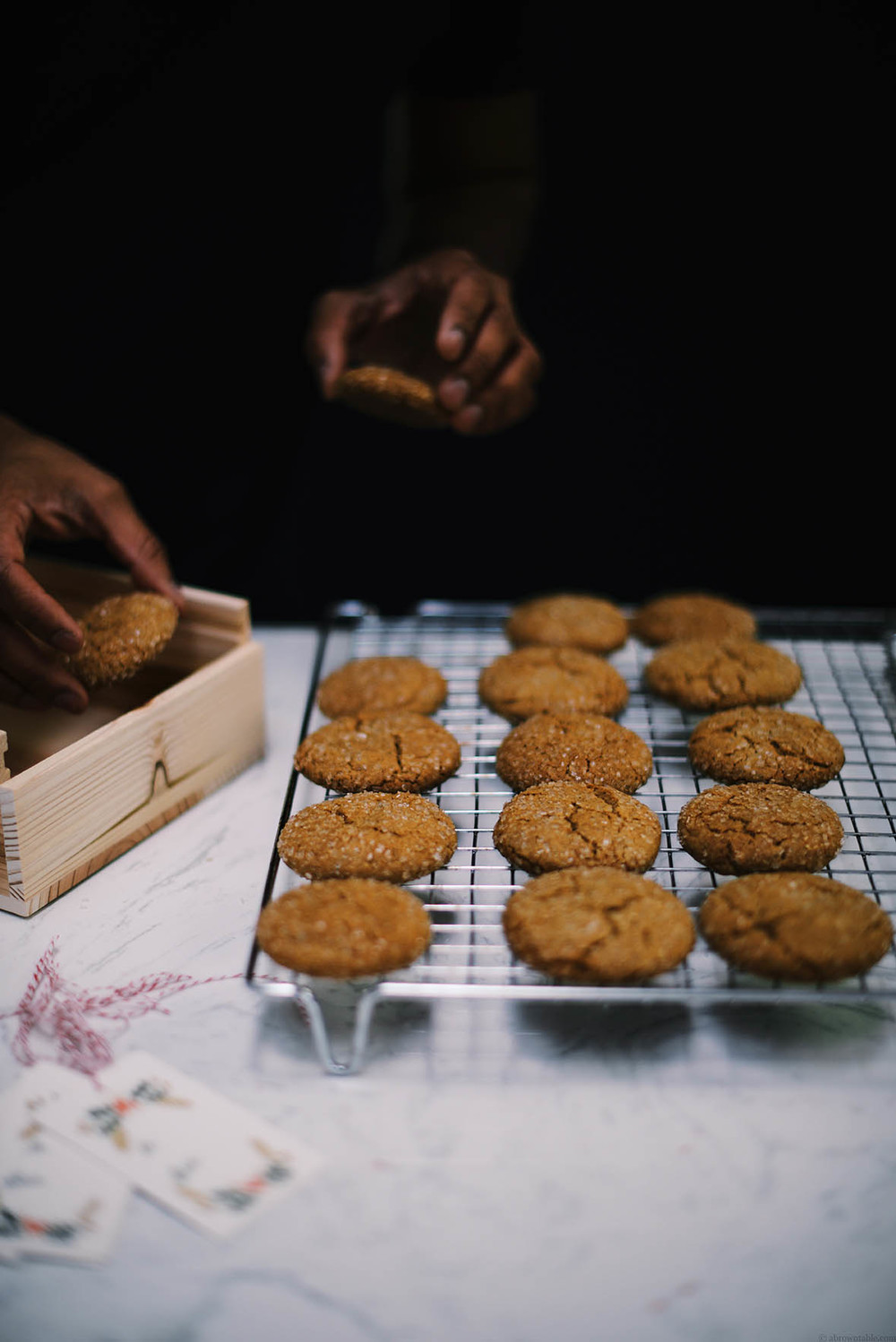 masala chai gingersnaps | A Brown Table