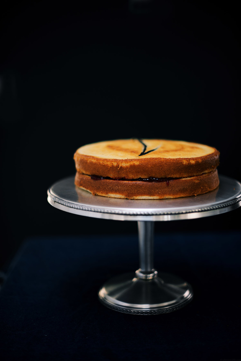 tahitian vanilla bean and tellicherry black pepper jam cake | A Brown Table