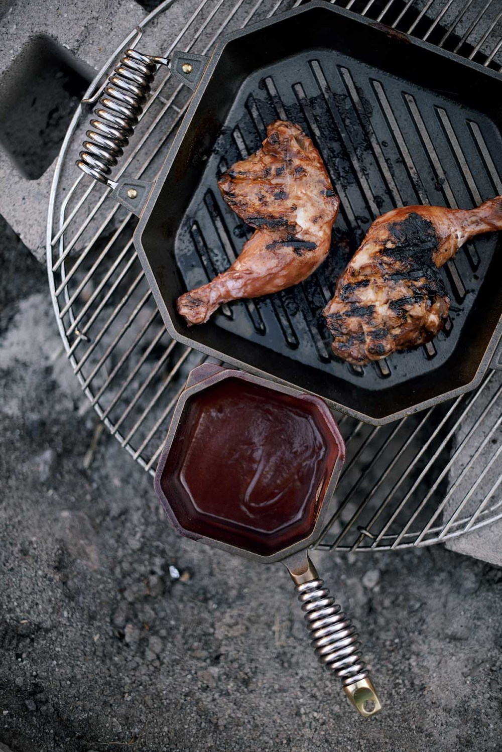 Indian inspired cherry barbecue sauce | A Brown Table