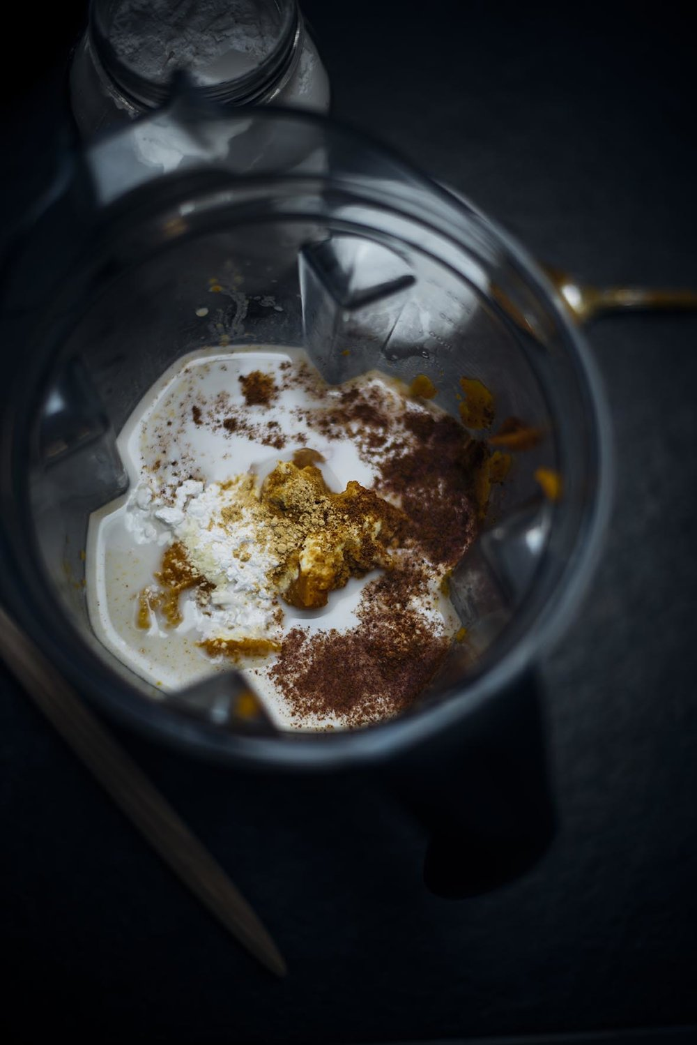 vegan coconut and pumpkin pudding | A Brown Table