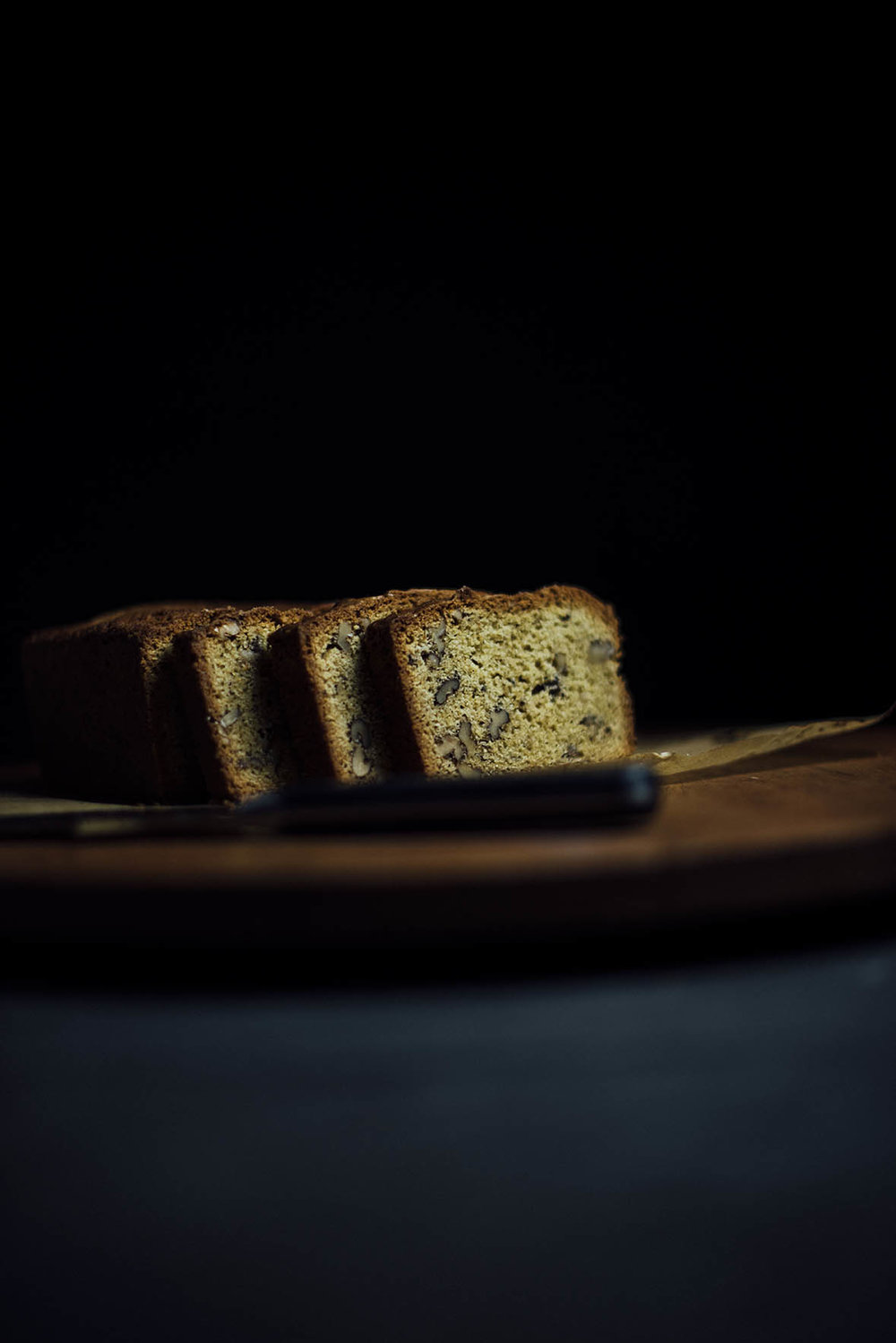 walnut ginger pound cake | A Brown Table